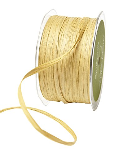 May Arts JPP-32 Paper Raffia Ribbon, 200 yd, Kraft by May Arts
