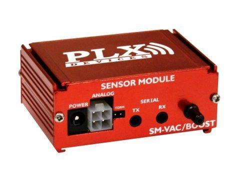 PLX SMVAC Vacuum/ Boost Sensor Module, 3 Bar, Red