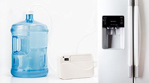 Dispensador eléctrico de agua para refrigerador dúpl