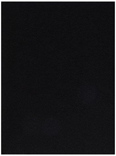 Darice FLT 0032 Felties Sheet Black