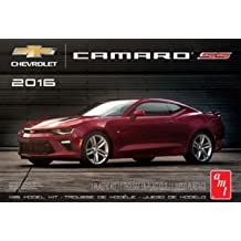 AMT 978 2016 Chevrolet Camaro SS 1:25 Scale Plastic Model Kit - Requires Assembly