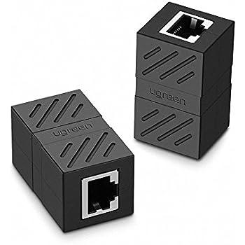 ugreen rj45 coupler 2 pack in line coupler. Black Bedroom Furniture Sets. Home Design Ideas
