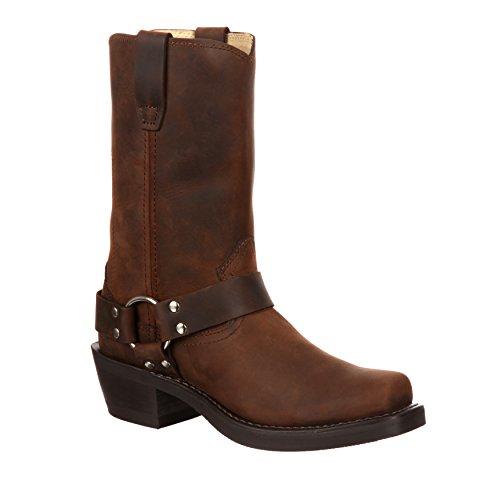 Durango Men's Flex Forepart Brown Harness Boot-DB594 (W9.5) ()