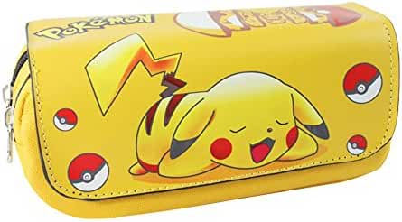 Anime Pokemon Pikachu Cosmetic / Coin Pouch Zipper Bag w/Gift box by Superheroes