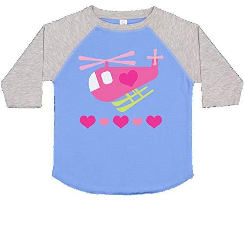 inktastic - Valentine Pink Heart Toddler T-Shirt 2T