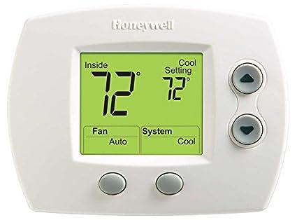 amazon com honeywell th5320u1001 focuspro 5000 non programmable rh amazon com Honeywell Vision Pro 5000 Manual Honeywell Pro 5000 Thermostat Manual