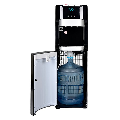 Brio Essential Series Bottom Load Hot, Cold & Room Water Cooler Dispenser - 3 Temperature Modes for Home or Office - UL / Energy Star Approved. by Brio (Image #4)