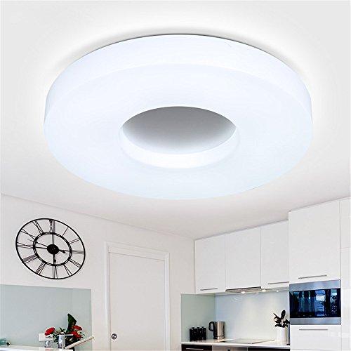 Moderne Élégant Balcon Circulaire Plafond Angeelee Un Led Lumière XZiuPk