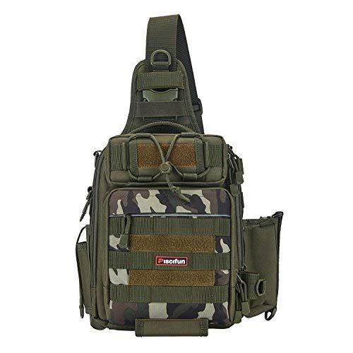 Honest Fishing Bag Large Capacity Multifunctional Lure Fishing Tackle Pack Outdoor Shoulder Bags 35*14*18cm Reel Storage Bag Fishing Security & Protection