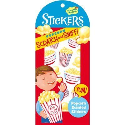 Scrapbook Scrapbooking Archive (Peaceable Kingdom Scratch and Sniff Popcorn Scented Sticker Pack)