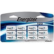 Energizer 123 Lithium Photo Batteries, 12-Pack