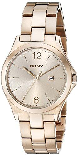 DKNY Women's NY2368 PARSONS Gold Watch (Bracelet Band Dkny)