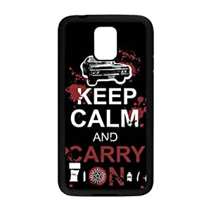 Keep Calm And Carry Brand New And Custom Hard Case Cover Protector For Samsung Galaxy S5