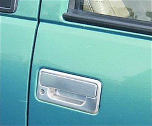 All Sales 920 Polished Billet Aluminum Door Handle and Bucket (Door Handle Bucket Kit)
