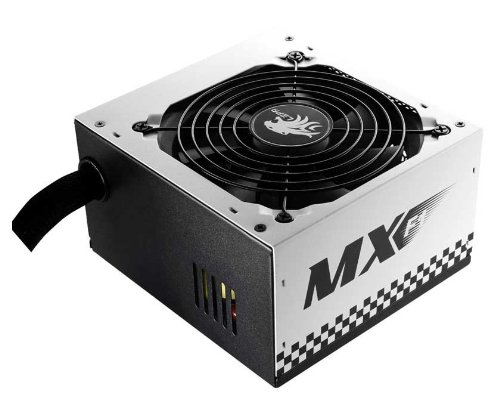 LEPA N Series MX-F1 600W ATX Racing Car Style Coating Power Supply with Extremely Silent Fan, N600-SB