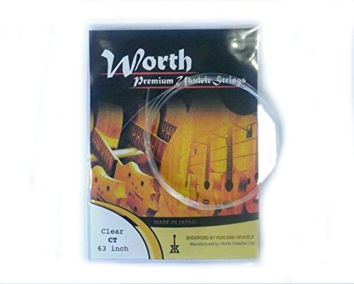Worth Premium Package Tenor 26'' Ukulele String Clear ()