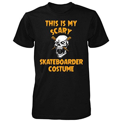 [This Is My Scary Skateboarder Costume Halloween Gift - Unisex Tshirt Black M] (Skateboarder Costume)