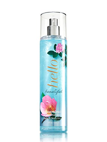 (HELLO BEAUTIFUL Signature Collection Diamond Shimmer Mist 8 fl oz / 236 mL)