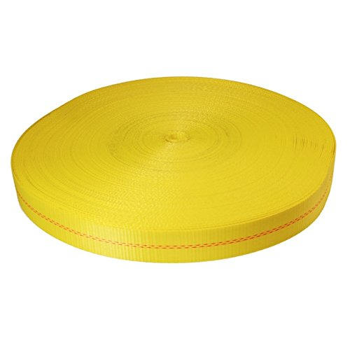 300 Yellow Polyester Webbing Strength