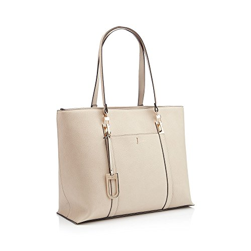 Conran Womens Jasper Large Grab 'teddington' Cream By J Textured Bag Finish n4SxfE