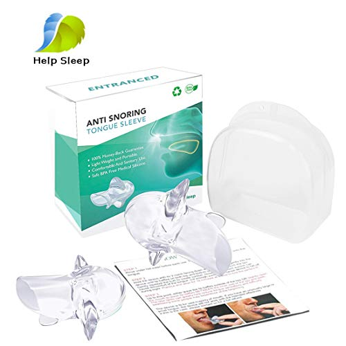 Mouth Snoring Tongue device Silicone product image