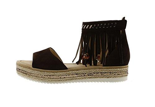 Gabor Women's Fashion Sandals Black Black JmNMSbEwa