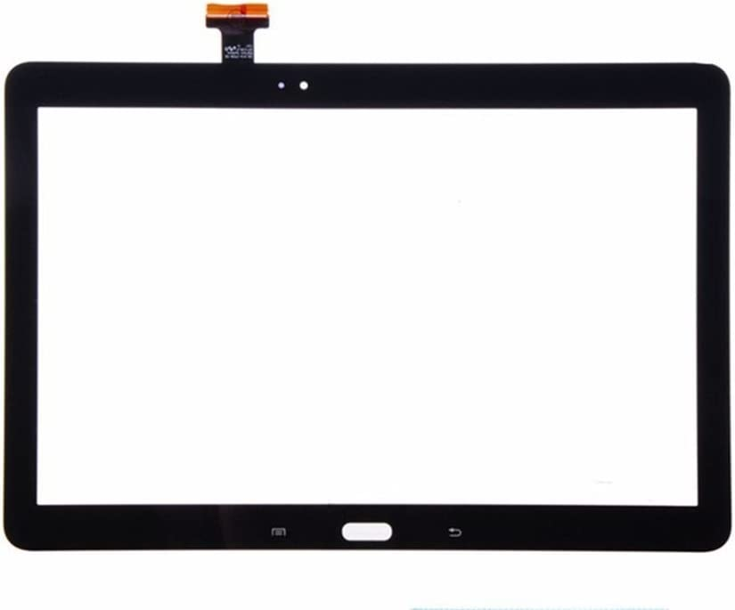 Group Vertical Replacement Touch Screen Digitizer Compatible with Samsung Galaxy Note 10.1 GV+ Performance 2014 Edition SM-P600, SM-P601, SM-P605, SM-P607T, SM-P6000 Black