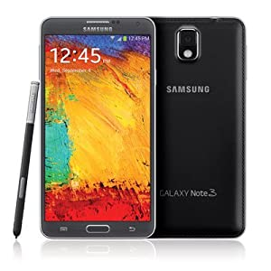 Samsung Galaxy Note 3 N900A Unlocked Cellphone, 32GB, Black
