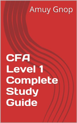 Handwritten CFA Level 1 Complete Study Guide