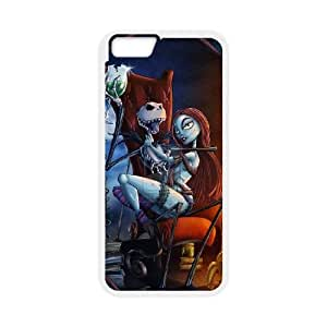 Nightmare Before Christmas iPhone 6 Plus 5.5 Inch Cell Phone Case White K3946245