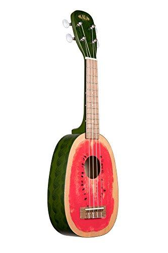 Kala KA-WTML Watermelon-Style Soprano Ukulele by Kala