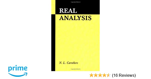 Amazon real analysis 9780521497565 n l carothers books fandeluxe Choice Image