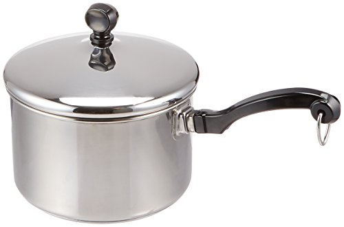 Farberware Classic Stainless Steel 2-Quart Covered Saucepan