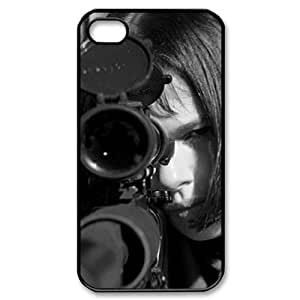 Winfors The Professional Natalie Portman L¨¦on Phone Case For Iphone 4/4s [Pattern-6]