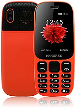 M-HORSE B2000 Unlocked Senior Mobile Phone w/ Big Buttons