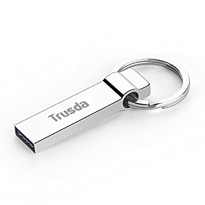 Trusda U90 USB 3.0 Flash Drive Portable Media Storage Data Traveler High Speed Memory Stick with Key Ring Design
