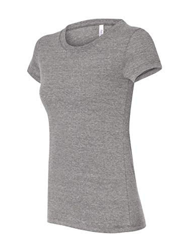 Bella womens Triblend Short-Sleeve T-Shirt(B8413)-GREY TRIBLEND-S