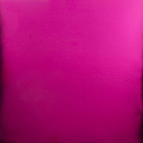 (Bazzill Foil Cardstock, 12 x 12, Hot Pink)