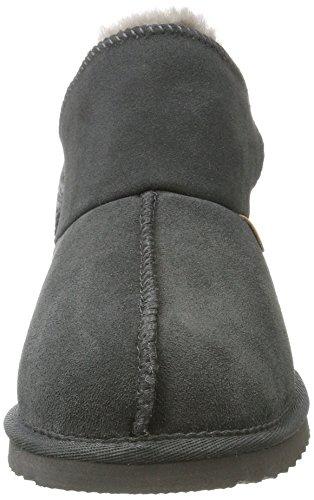Warmbat Damen Willow Hausschuhe Grau (Dark Grey)