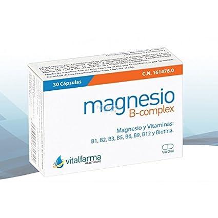 MAGNESIO B COMPLEX 30 CAP VITALFARMA