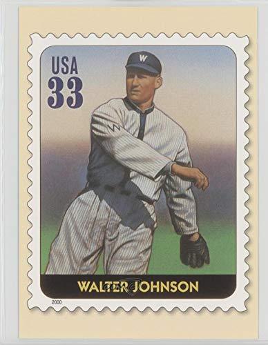 Walter Johnson (Baseball Card) 2000 USPS Legends of Baseball All Century Team Postcards - [Base] #WAJO