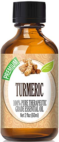 Turmeric Essential Oil - 100% Pure Therapeutic Grade Turmeric Oil - 60ml by Healing Solutions