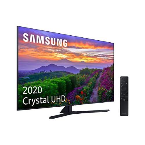 chollos oferta descuentos barato Samsung Crystal UHD 2020 55TU8505 Smart TV de 55 con Resolución 4K Crystal Display Dual LED HDR 10 Procesador 4K Sonido Inteligente One Remote Control y Asistentes de Voz Integrados Alexa