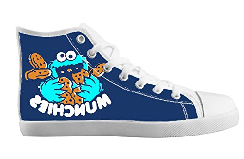 Girls Canvas High Top Shoes Sesame Street Design 7 sjQGk26MG