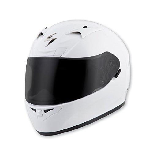 Scorpion Full Systems (Scorpion EXO EXO-R710 Gloss White Full Face Helmet, L)