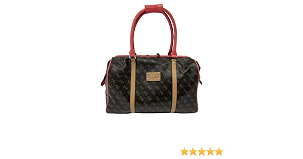 GUESS Travel Logo Affair Doctor Tote Luggage Tote ($85
