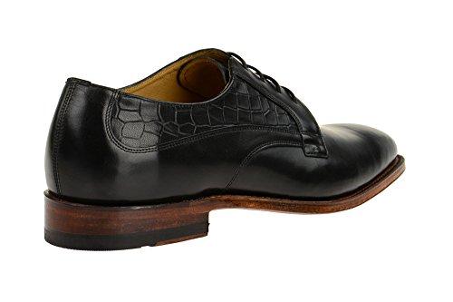 Gordon & Bros5098-i Black - Stringata classica Uomo Nero