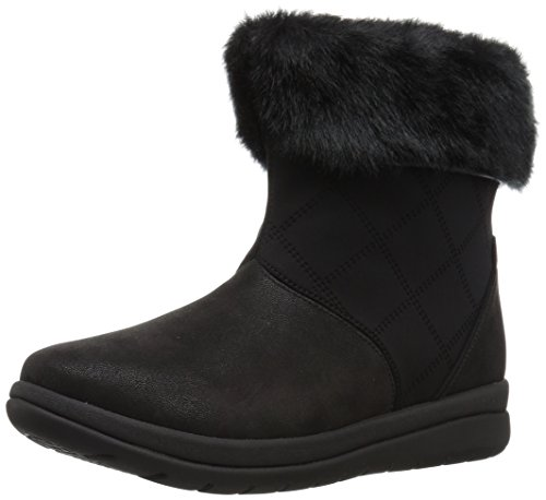 CLARKS Women's Cabrini Reef Bootie,Black,8.5 M US by CLARKS