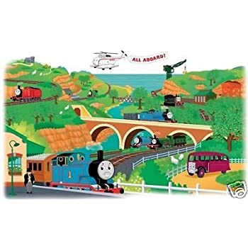 Exceptional THOMAS The TRAIN Giant Map Wall Decals Room Decor Stickers Mural  Decorations NEW Part 19