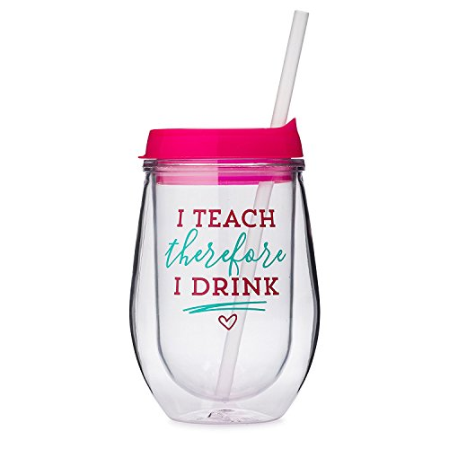 Teach Therefore Drink Acrylic Turquoise product image